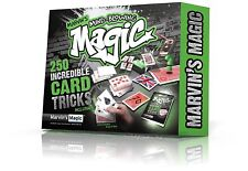 Marvin's Mind Blowing Magic 250 Incredible Card Tricks Magicians Set
