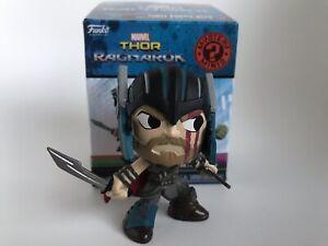 Ragnarok Mystery Mini Marvel Thor Battle Scarred Funko Figure