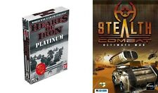 hearts of iron platinum & Stealth Combat Ultimate War    new&sealed