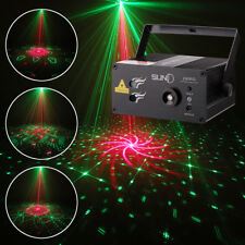 SUNY DJ Light Red Green Gobos Laser Projector Holiday Event Show Bar Party