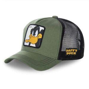 Men Women Animal Farm Snapback Baseball Cap Cartoon Hip-Hop Dad Mesh Hat Trucker