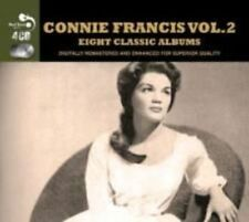 Connie Francis Vol 2 - 8 Classic Albums on 4 Cd's Real Gone Jazz