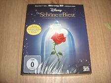 Die Schöne und das Biest Diamond Edition Blu-Ray 3D + 2D Digi-Pack NEU