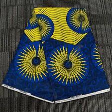 91x116cm Ankara African Cotton Wax Print Fabric DIY Making Garment Accessories
