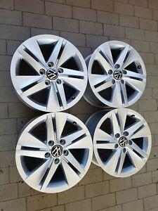 Cerchi in lega Originale VW GOLF 8 7x16 5x112 Et48 57.1 4 pezzi Nuovi Borbet