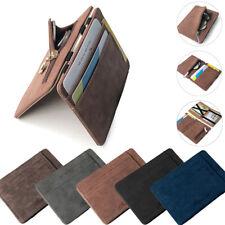 Men's Luxury Faux Leather Thin Wallet Credit Card ID Holder Purse Mini Wallet