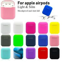 Airpods Case, Silicone Shockproof Protect Cover case Holder For Apple Airpods