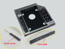2nd Hard Drive HDD Bay Caddy 12.7mm SATA for ACER/ASUS/DELL/TOSHIBA Laptops A10