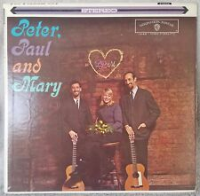 "PETER, PAUL + MARY 1962 (WS-1449) 12"" Vinyl 33 LP Folk WB If I Had a Hammer VG+"