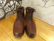 Johston Murphy Brown Leather Ankle Boots, HIking Boots, Water Proof, 11M 25-2043