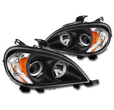 1998-2005 MERCEDES-BENZ W163 ML REPLACEMENT PROJECTOR HEADLIGHT LAMP BLACK PAIR