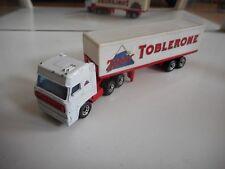 "Matchbox Convoy Daf 3300 SPace Cab + Trailer ""Toblerone"" in White"