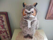 FAO Schwarz Great Horned Plush Owl