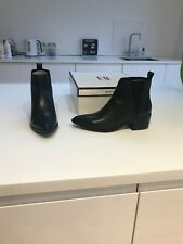Miista E8 Black Pointed Boots New Size 5 (38)