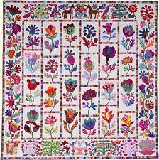 FLOWER GARDEN Applique Quilt Pattern by Kim McLean