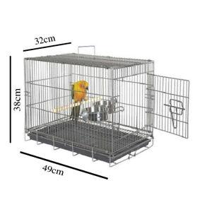 LIBERTA  BIRD TRANSPORTER CAGE- For Ringneck Alexandrien Conures Amazon Afric