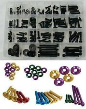 Motorcycle 150 M5 M6 Black Anodised FAIRING and SCREEN BOLT KIT - USS150BK