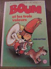 Enid Blyton:Boum et les trois voleurs/ Bibliothèque Rose Hachette