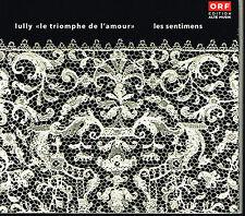 CD album: Lully: le triomphe de l'amour. ORF. B