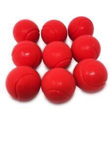 E-Deals 70mm Soft Foam/Sponge Balls - Pack of 9 Red