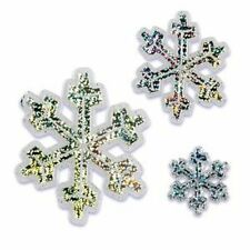 Snowflake Frozen Cake Toppers - 3 Count