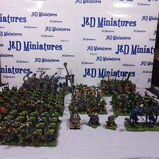 Gw warhammer orcos & goblins orcos oldhammer Ejército Pro Pintado fuera de imprenta