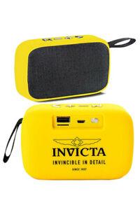 INVICTA PORTABLE BLUETOOTH WIRELESS SPEAKER WITH FM RADIO MODEL 31494