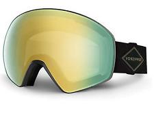 NEW Von Zipper Jetpack Goggles-BKD Black-Gold Chrome+Bonus-SAME DAY SHIPPING!