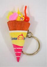 Keychain Sweet Ice, Ice Cream Lemon, Cherry, Heart Love Waffle Cone, Key, Car