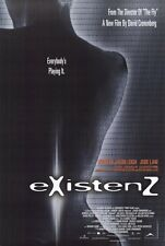 EXISTENZ Movie POSTER 27x40 D Jennifer Jason Leigh Jude Law Ian Holm Willem