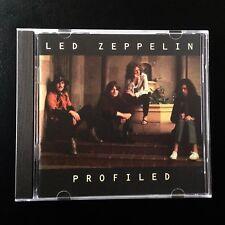 Profiled, Led Zeppelin CD 1990 JIMMY PAGE, ROBERT PLANT, J.P. JONES, INTERVIEWS