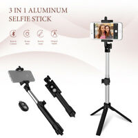 Bluetooth Remote Wireless Cellphone Selfie Stick Tripod Handheld
