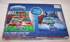Skylanders Trap Team Reversible Single Bed Microfibre Quilt Cover Set New