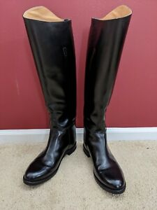 Women's dress English riding boots 10 wide calf (#99)