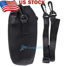 1000ml Water Bottle Carrier Insulated Cover Bag Pouch Holder Shoulder Strap USA