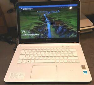 Sony Vaio SVF14 Pentium 987 @ 1.5GHz  8Gb ram 500gb Hdd Touchscreen win 10