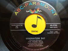 THE ROVER BOYS ~ Graduation Day ~ 45's record ~ POP ~ 1956 ~ VG+