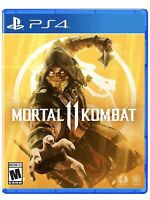 🔥Mortal Kombat 11 PS4 (Sony PlayStation 4, 2019) Brand New FAST SHIPPING