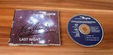 Leslie Mandoki * Chinggis khan *, original signed CD-cover * Last night * + CD