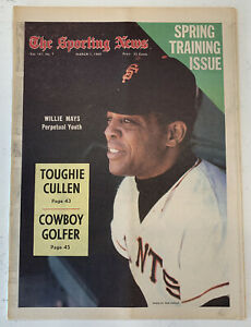 The Sporting News March 1, 1969 Willie Mays San Francisco Giants Baseball (B33)