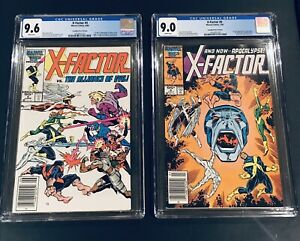 Xfactor 5 And 6 Cgc Canadian Price Variant