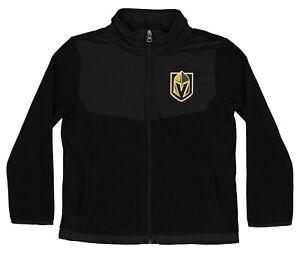 Outerstuff NHL Youth (4-18) Las Vegas Golden Knights Zip Up Fleece Jacket