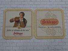 Vintage Beer Coaster: Schleppe Brauerei (Villacher) Marzen ~ Klagenfurt, Austria