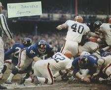 ERICH BARNES CLEVELAND BROWNS NEW YORK GIANTS 1969  8 X 10 ORIGINAL PHOTO 1