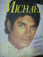Michael Jackson 1984 Souvenir Edition Book With In Concert Special Section