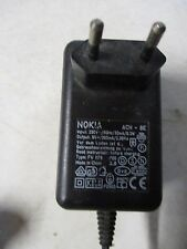 Adaptateur Secteur Chargeur  9V DC  265mA NOKIA ACH-8E /ZA14