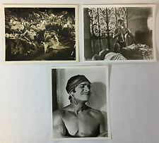 THE THIEF OF BAGDAD vintage movie 8x10 photos ~ lot of 3 ~ DOUGLAS FAIRBANKS