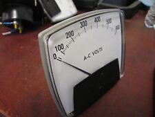Process Measurements Volt Meter 250 444 SJSJ Range: 0-600VAC Used