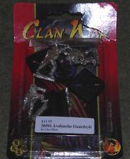 AEG L5R guerra di clan MINIATURES-Avalanche guardie X4 (MIB)