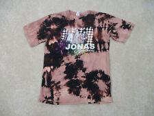 Jonas Brothers Concert Shirt Adult Small Brown Black Burning Up Tour Boy Band *